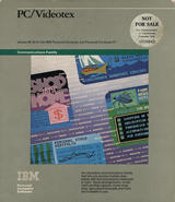 PC Videotex package cover