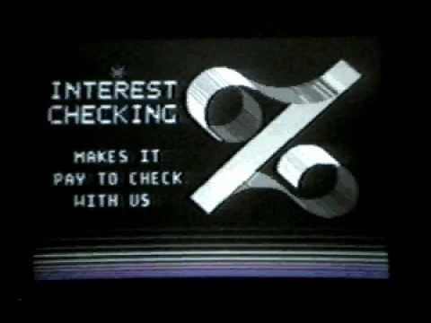 Interest Checking: Bank of America (1982)