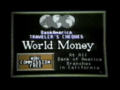 World Money: Bank of America (1982)